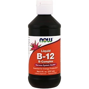 NOW B-12 Liquid B-Complex 8 oz