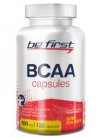 Be First BCAA Capsules, 120 капсул