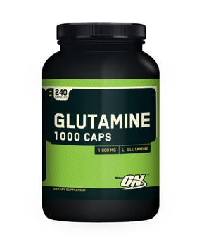 Optimum Nutrition Glutamine caps 1000 mg. 240 caps