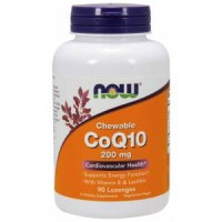 NOW CoQ10 200 mg + Vit E 90 loz