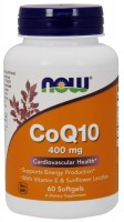 NOW CoQ10 400 mg 60 softgels