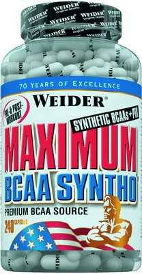Weider Maximum BCAA Syntho 240 капс