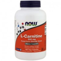 NOW L-Carnitine 500 mg 180 vcaps