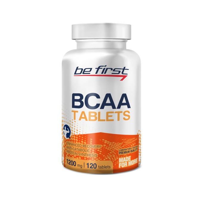 Be First BCAA Tablets, 120 таблеток