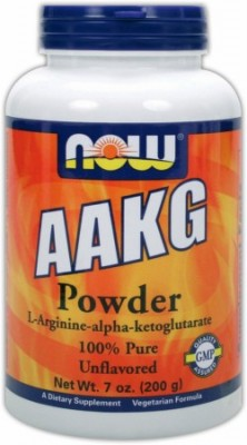 NOW AAKG Pure Powder 7 oz