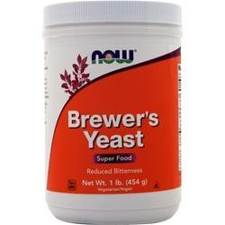 NOW Brewers Yeast Powder 1 lb