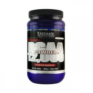 Ultimate Nutrition BCAA 12.000 Powder 400 гр. Unflavored