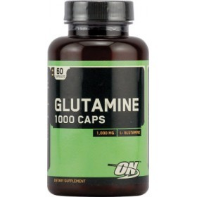 Optimum Nutrition Glutamine caps 1000 mg. 60 caps