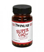 Twinlab Super CoQ 10 50 mg 60 caps