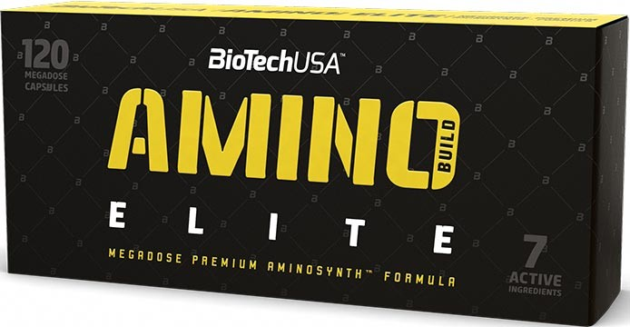 BioTech USA Elite Amino Build 120 капс