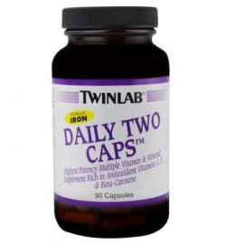 Twinlab Daily Two 90 caps W/O IRON
