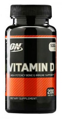 Optimum Nutrition Vitamin D 200 softgels