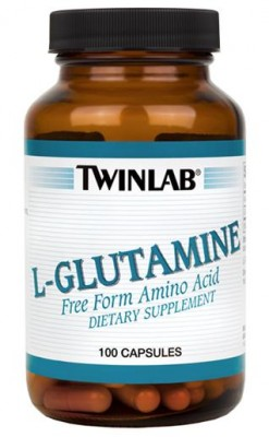 Twinlab L-Glutamine 500 mg 100 caps