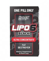 Nutrex Lipo6 Black Ultra Concentrate 60 caps